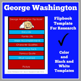 George Washington Flip Book Activity