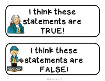 George Washington Fact Sort