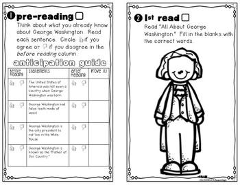 George Washington Instant Reading Lesson