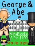 George Washington & Abe Lincoln Mini-Books