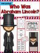 George Washington, Abraham Lincoln, Donald Trump, Presidents