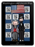 George Washington Abraham Lincoln Presidents Watch & Learn QR Codes~Biographies