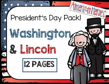 Washington & Lincoln President's Day Pack