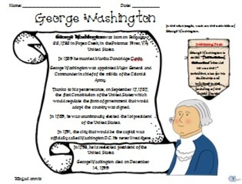 George Washington Activities.