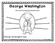 George Washington Activity Pack for Kindergartners and 1st