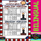 George Washington - American Presidents - Worksheets and Readings - Bilingual