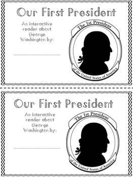 George Washington {An Interactive Reader}