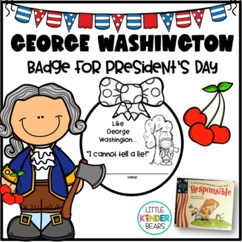 George Washington Badge