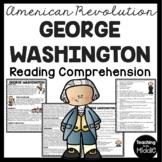 George Washington Biography Reading Comprehension Worksheet Revolutionary War