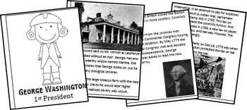 George Washington Biography Report (K-8th)