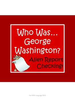 """George Washington Biography by Edwards """"Who Was..?"""" Compre"""