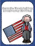 George Washington Biography Writing Tab Book