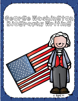 George Washington Biography Writing Book