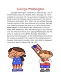 George Washington Biography and Sequence