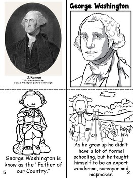 George Washington Book- English & Spanish