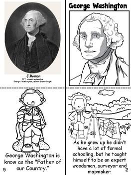 George Washington Book- English & Spanish