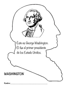 George Washington Booklet with True/False in Spanish