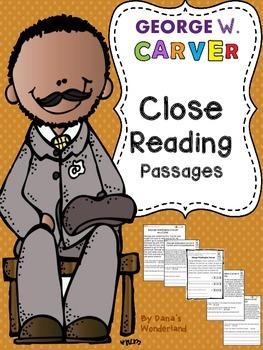 George Washington Carver Reading Passages