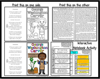 George Washington Carver: Biography Reading Passage: Famous Inventor
