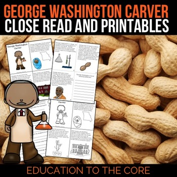 George Washington Carver Reading Passage and Activities