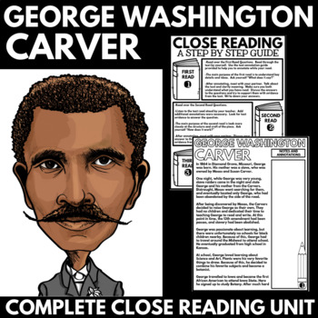 George Washington Carver - Black History Month Unit Information and Research