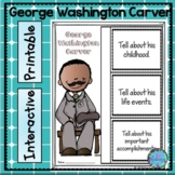 George Washington Carver Writing - Great Black History Month Activity