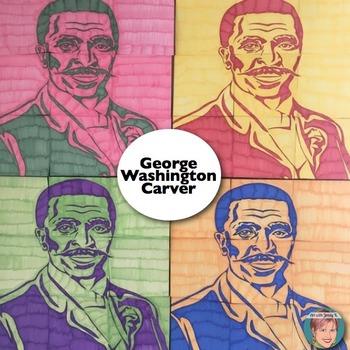 George Washington Carver Collaboration Portrait Poster - Black History Month