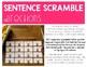 George Washington Carver Activity | Building Sentences | Scrambled Sentences