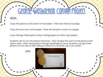 George Washington Carver Activity Pack