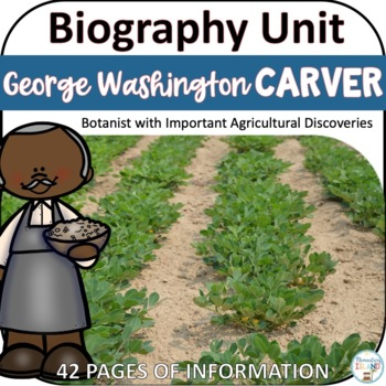 George Washington Carver - Black History Month Activities / Biography Report