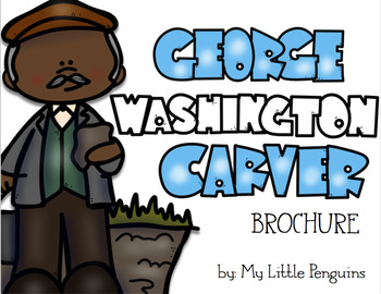 George Washington Carver Brochure (Pamphlet) Black History Month