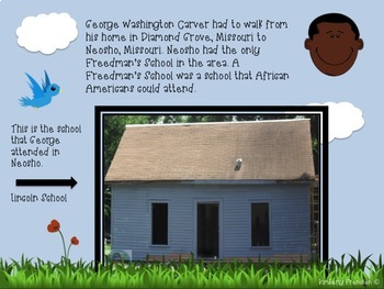 George Washington Carver: Fiction & Non-Fiction PowerPoint with Reading Practice