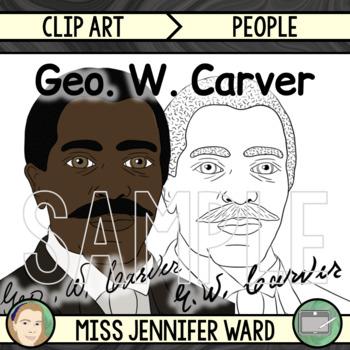 George Washington Carver Clip Art