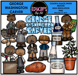 George Washington Carver Clip Art Set {Educlips Clipart}