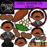 George Washington Carver Clipart {Creative Clips Clipart}