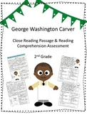 George Washington Carver Close Reading Passage and Reading Comprehension Sheet