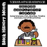 George Washington Carver Comprehension / Biography Pack - Black History Month