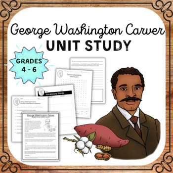 George Washington Carver Comprehension Packet
