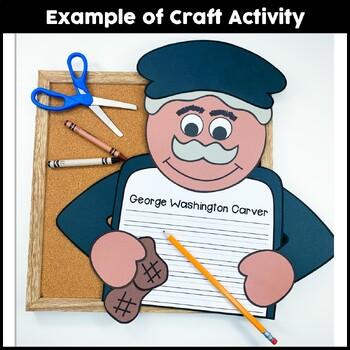 George Washington Carver Craftivity