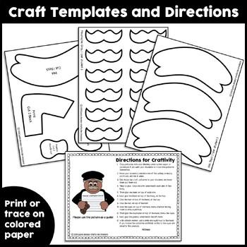 Black History Craft {If I Were George Washington Carver Writing Prompts}