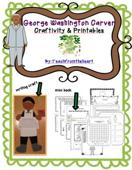 George Washington Carver Craftivity (A Black History Month