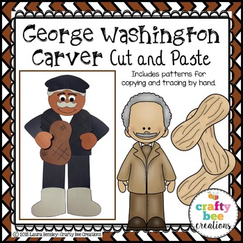 George Washington Carver Cut and Paste