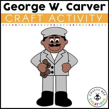 George Washington Carver Cut and Paste