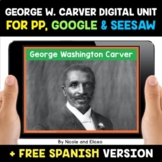 George Washington Carver Digital Activities for Google and Seesaw