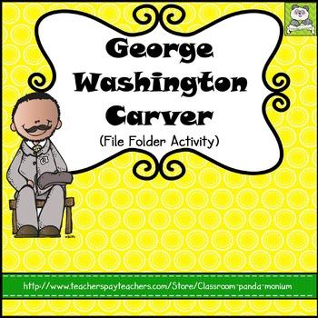 George Washington Carver File Folder Activity