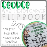 George Washington Carver Flip Book PLUS Colored Poster & S