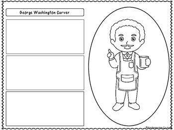 George Washington Carver (Graphic Organizers)