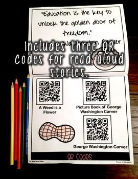 George Washington Carver Informational Flipbook for Black History Month