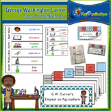 George Washington Carver Interactive Foldable Booklets - Black History Month