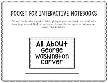 George Washington Carver - Inventor Research Project Interactive Notebook
